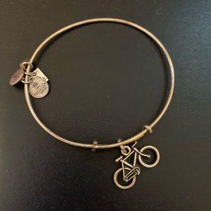 Alex and Ani Bicycle Bracelet